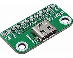画像1: USBコネクタwith基板(2.0/タイプC)