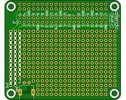画像1: ユニバーサル基板(Pi)