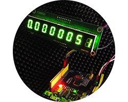 画像1: 国産LED表示器with基板