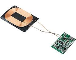 画像1: 国産実装済みワイヤレス受電モジュール