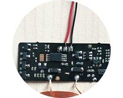 画像2: 実装済みワイヤレス受電モジュール