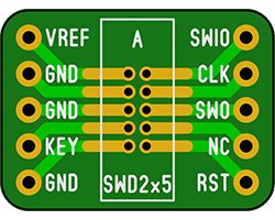 画像1: JTAG変換基板(3枚入)
