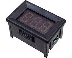 画像1: 3桁電圧表示器