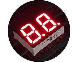 画像3: ★0.56★2桁7セグ表示器(赤色)