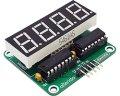 シフトレジスタ4桁表示器キット