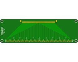 画像1: ピッチ変換基板(0.635-2.54)