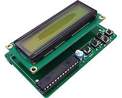画像1: 5スイッチ付きI2C液晶コントローラ