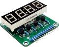 トランジスタ制御7セグLED表示器
