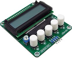 画像1: I2Cインターフェース液晶モジュール