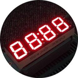 画像2: ★0.56★コロン付4桁7セグLED表示器(赤色)