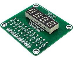 画像1: 汎用7セグLED表示器基板