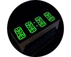 画像1: ★0.54★4桁14セグLED表示器(緑色)