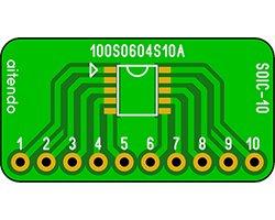 画像2: ピッチ変換基板(1.0/10P)(3枚入)