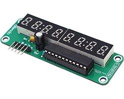 画像1: シリアル8桁7セグLED表示器キット