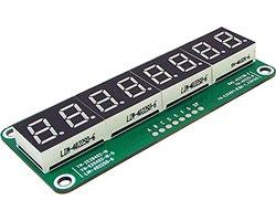 画像1: 8桁7セグLED表示器基板