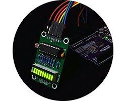画像1: LED明るさインジケータ
