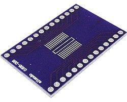 画像1: ピッチ変換基板(0.635/28P)