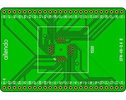 画像1: ICソケットDIP化基板単体