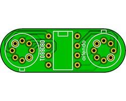 画像1: ピッチ変換基板(2枚入)