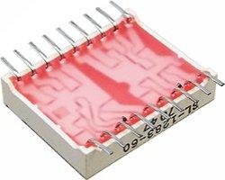 画像2: ★国産特価★国産2桁7セグLED表示器(赤色)