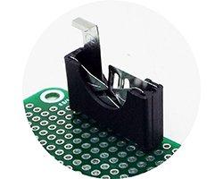 画像1: 電池ホルダ(4個入)