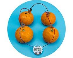 画像1: レモン電池電極板(5ペア)