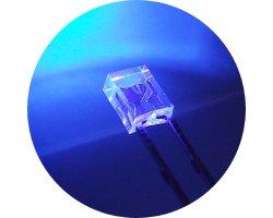 画像1: ★2x3x4★角型紫色LED(20個入)