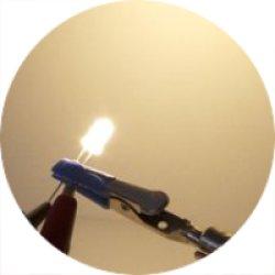 画像1: ★φ5★電球色LED(20個入)