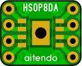 ★HSOP-8★ピッチ変換基板(6枚入)