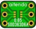 ★SOD-363★ピッチ変換基板(10枚入)