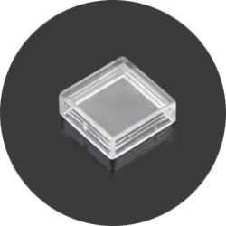 画像1: ★12x12★タクトスイッチ透明キャップ(10個入)