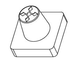 画像3: 5方向スイッチキャップ(5個入)