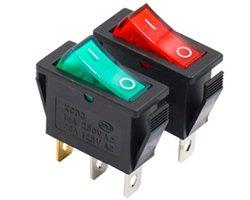 画像1: ネオンランプ付き電源スイッチ