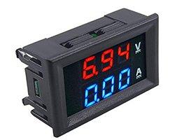 画像1: LEDデジタル電圧電流計