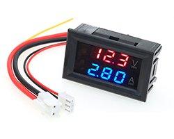 画像2: LEDデジタル電圧電流計