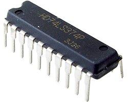 画像1: 8回路D-フリップフロップ