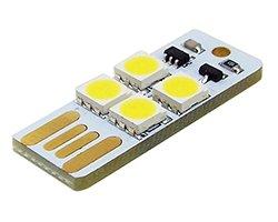 画像1: タッチ機能付きUSB直挿小型LEDモジュール