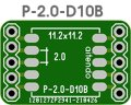 ラジオモジュールDIP化基板(2枚入)