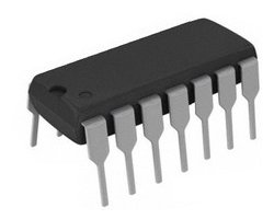 画像1: 4回路2入力NANDゲート
