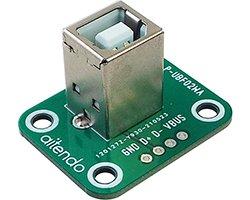 画像1: USBコネクタwith基板