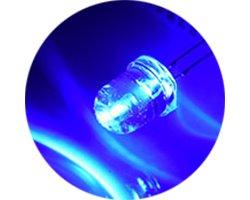 画像1: ★特売品★φ8★青色LED(20個入)