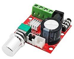 画像1: 音量調整ボリューム付きパワーアンプモジュール
